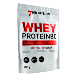 7Nutrition Whey Protein 80 500 g
