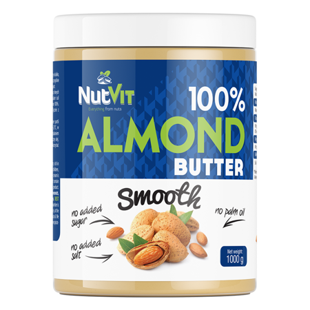 NutVit 100% Almond Butter 1000 g