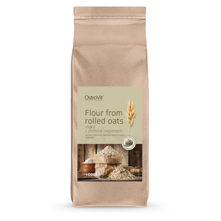 OstroVit Flour from Rolled Oats 1000 g